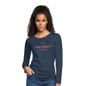 Let the Adventure Begin Dames Longsleeve