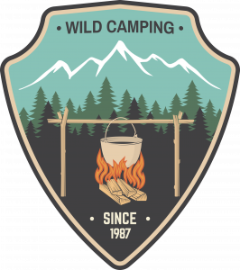 Wild Camping Badge Shirt